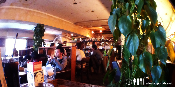 Loger Cafe(ロジェ カフェ)恵比寿の店内
